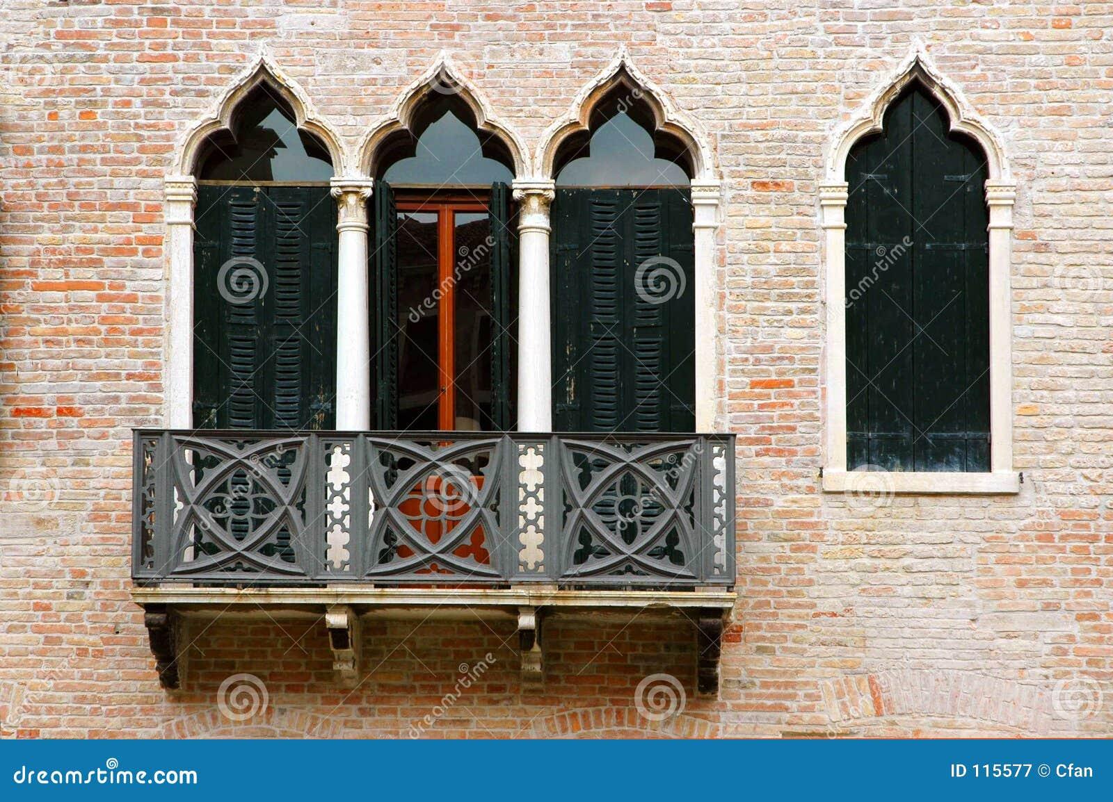 Vensters van de Reeks van Venetië