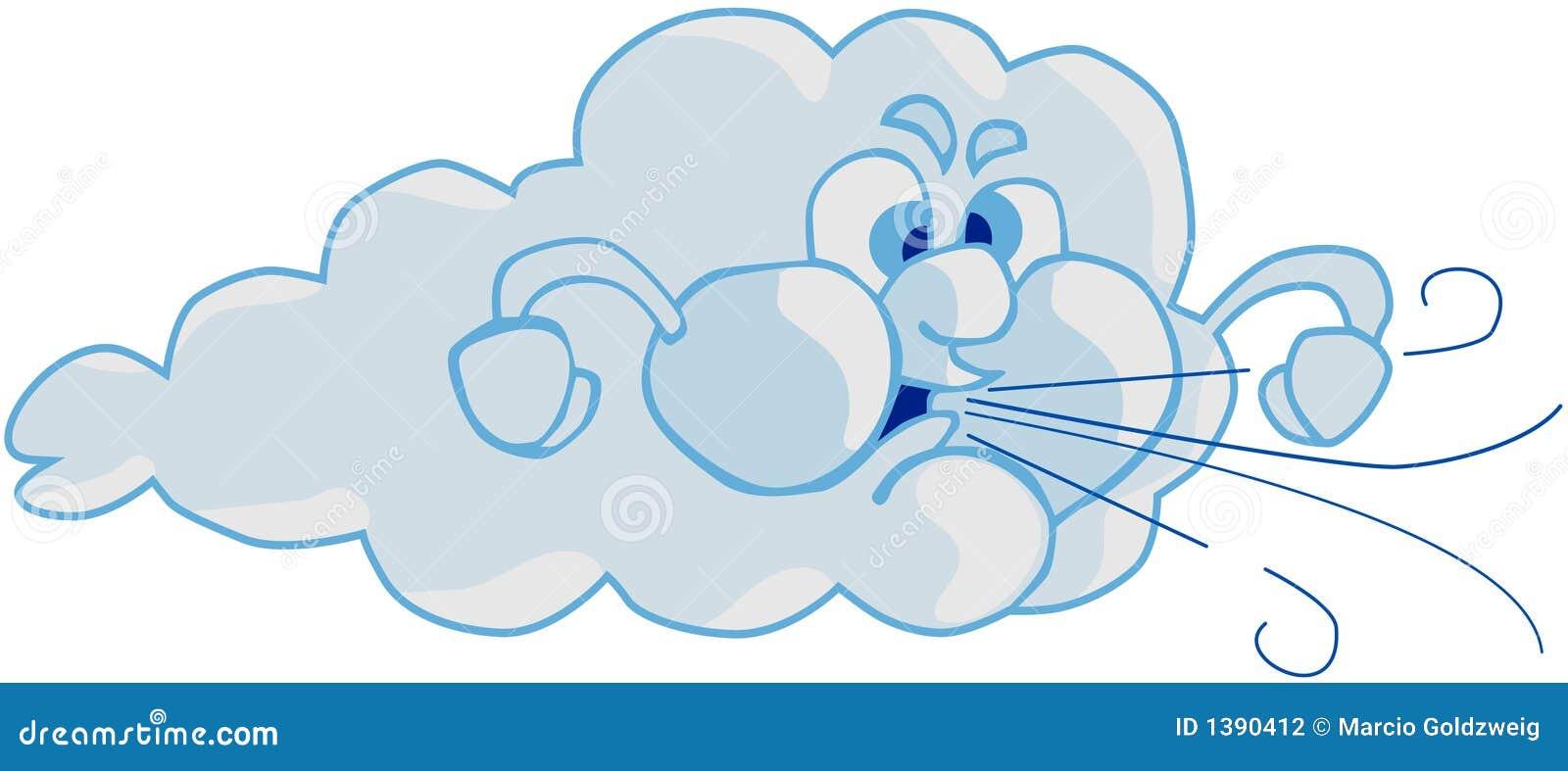 Vent et nuage photographie stock image 1390412 - Nuage et vent ...