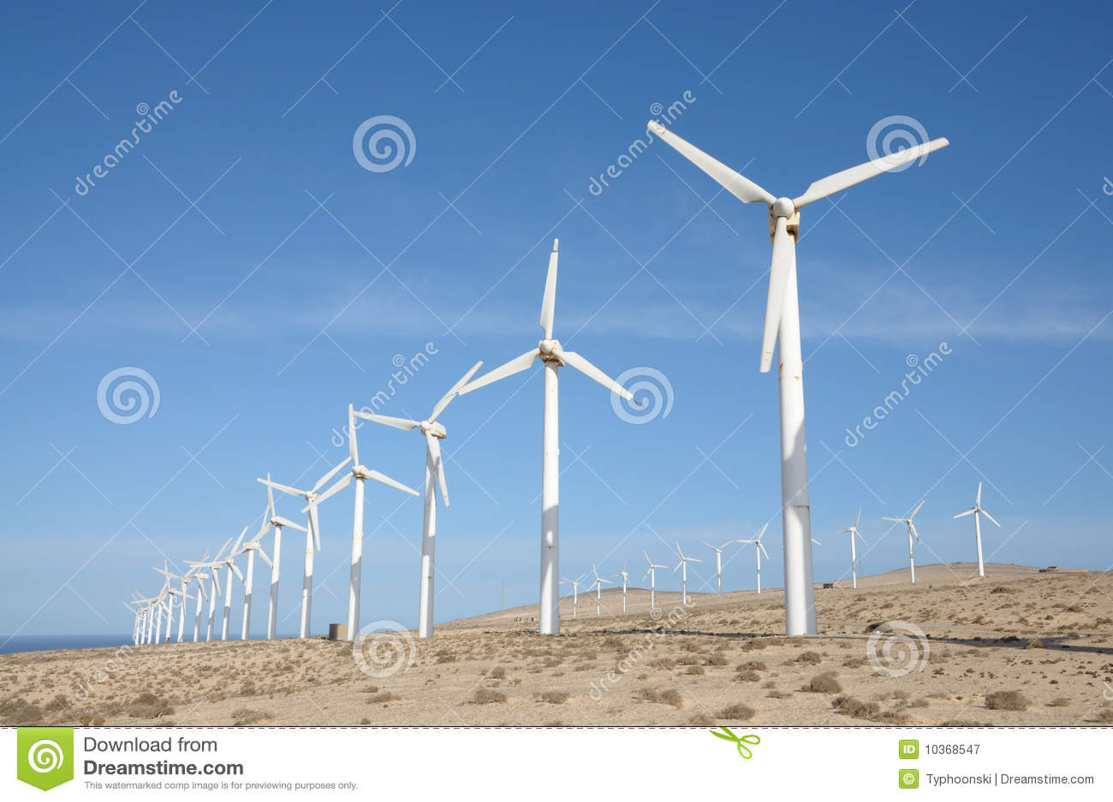 Vent renouvelable de turbines d énergie