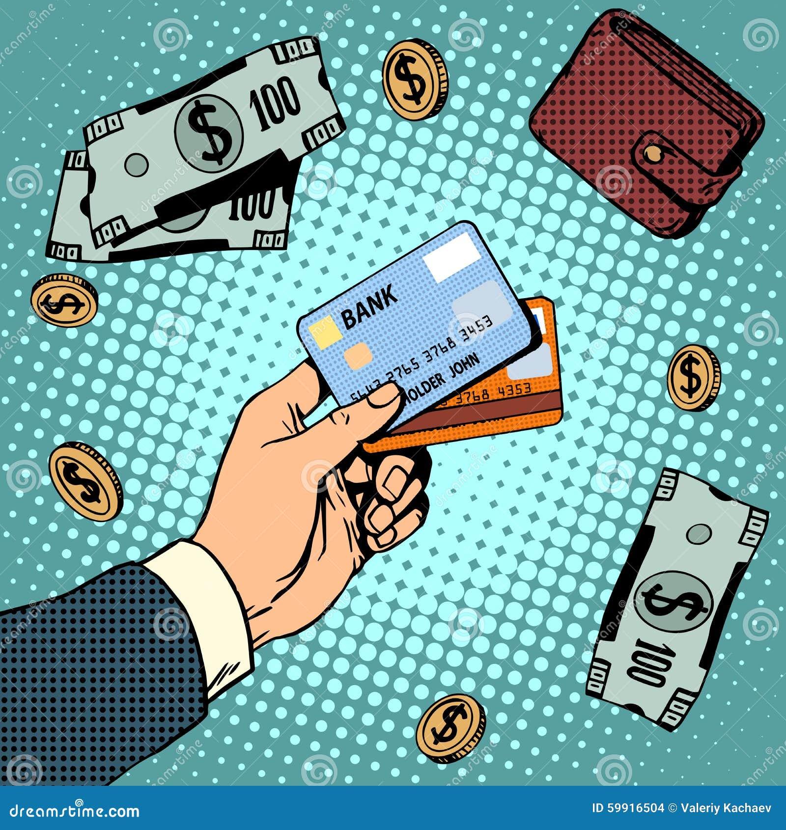 Venta de las finanzas del dinero de los descuentos del negocio de la tarjeta de banco
