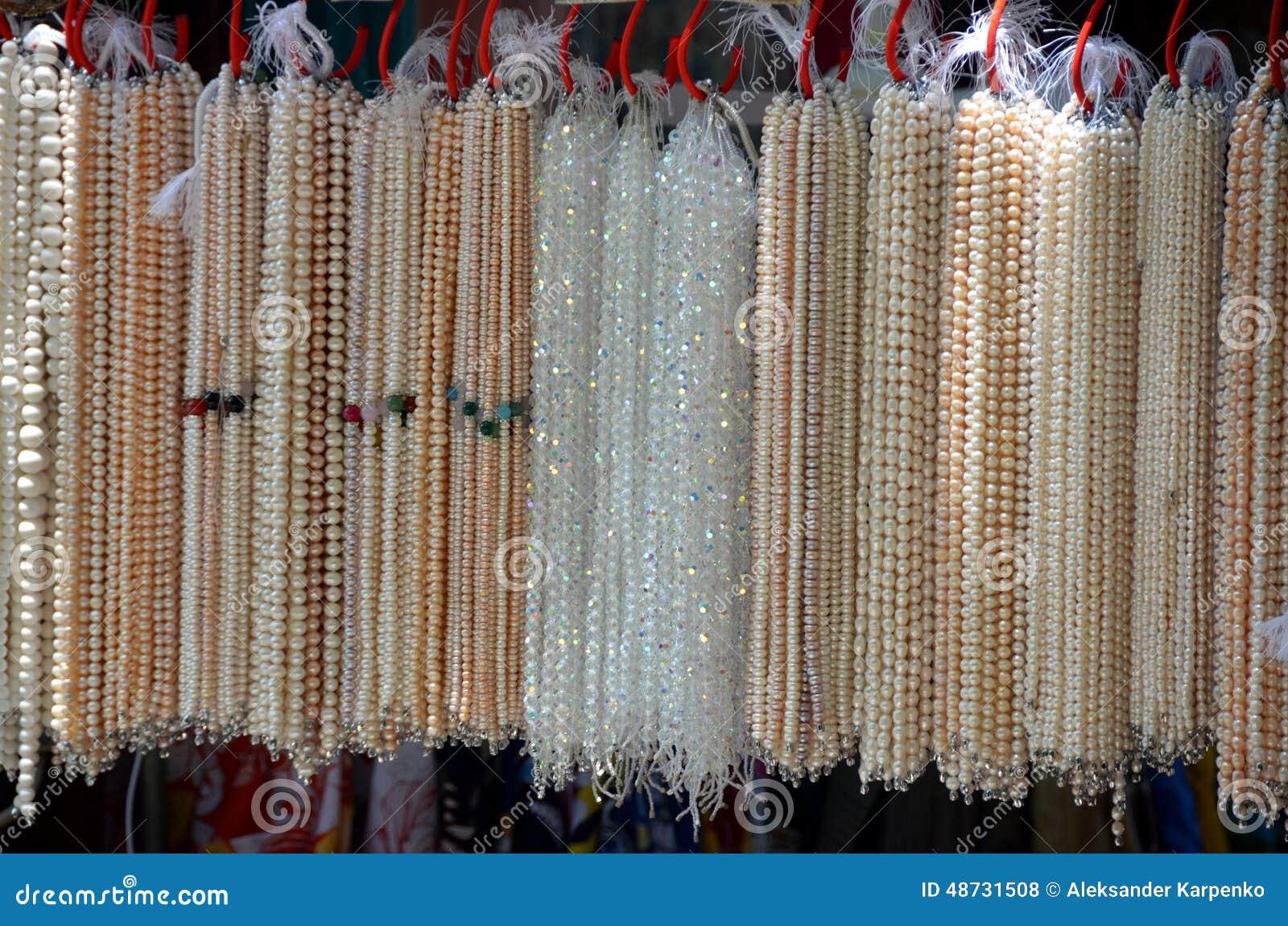 65ccb158dcaa Venta De Las Perlas En China Foto de archivo - Imagen de granos ...