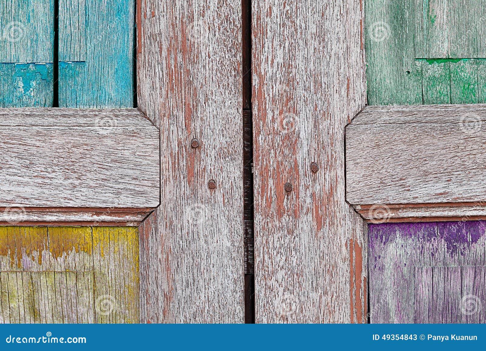 Ventana de madera vieja fondo para el papel pintado del for Papel de pared madera