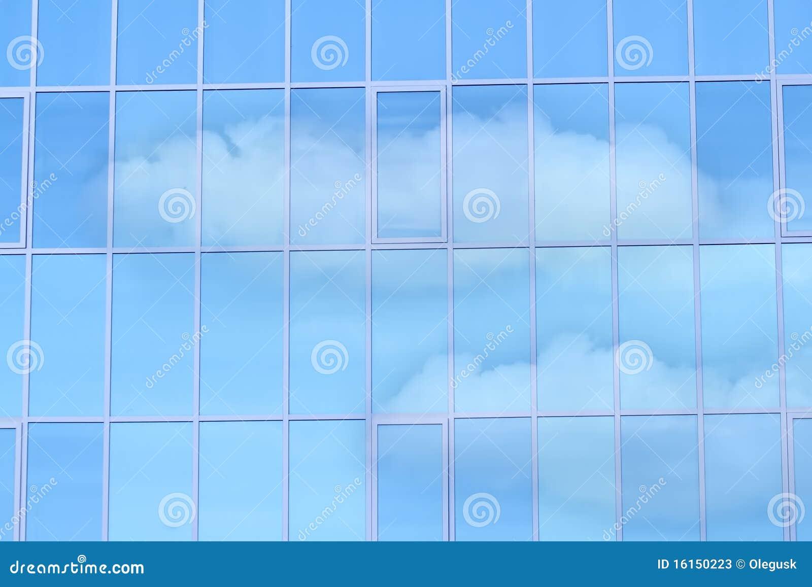 Ventana del espejo de cristal fotos de archivo imagen - Cristal de espejo ...