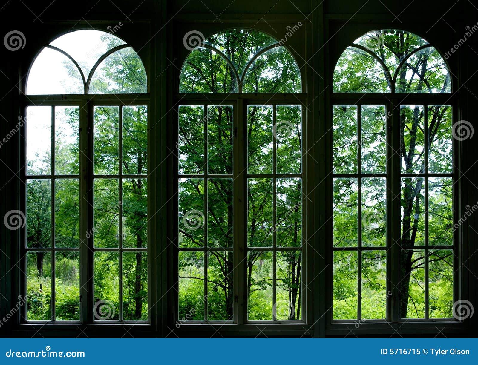Ventana del jardín imagen de archivo. Imagen de ventana - 5716715