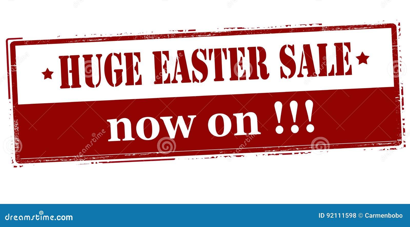 Vente énorme de Pâques maintenant dessus