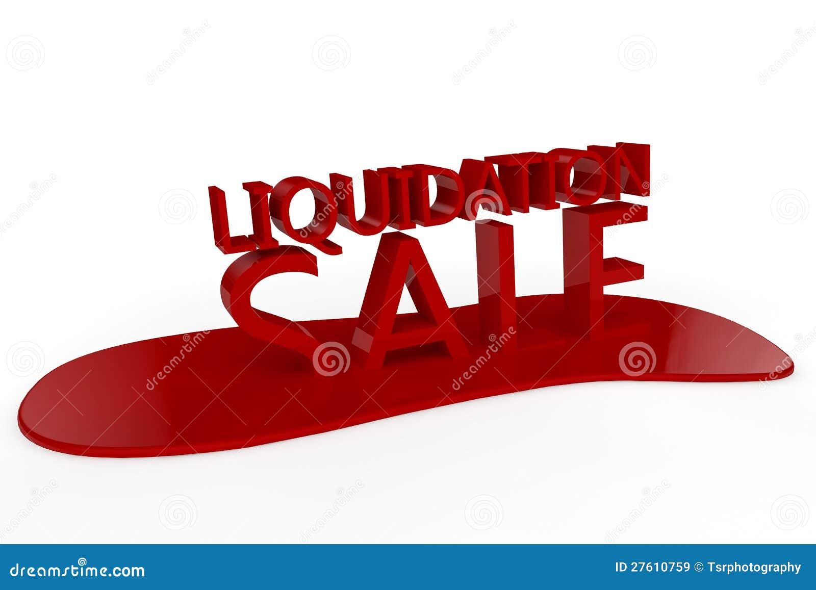 Vente de liquidation