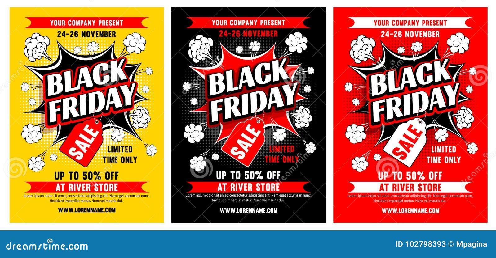 Vente noire de vendredi