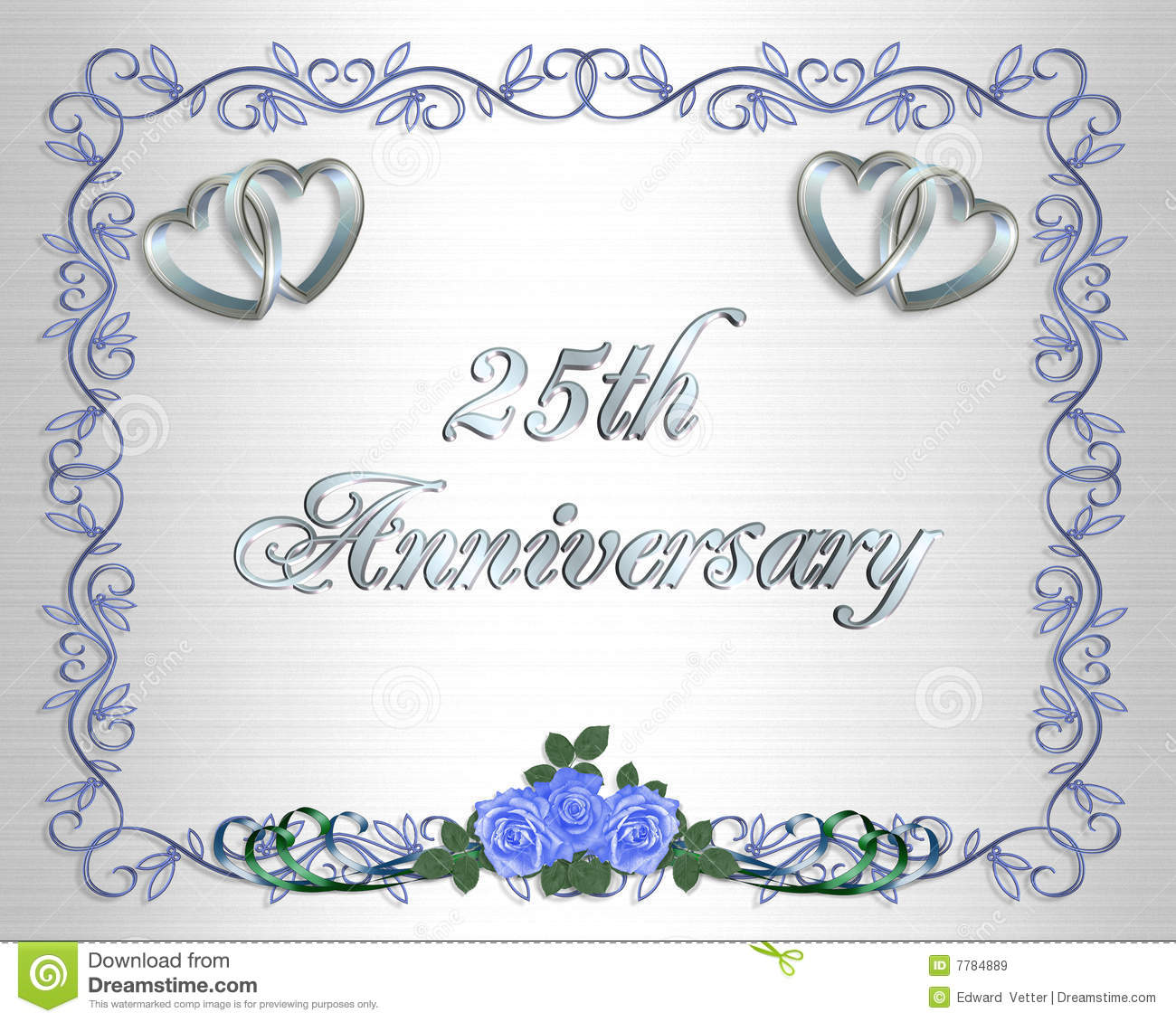 Wedding Card Anniversario