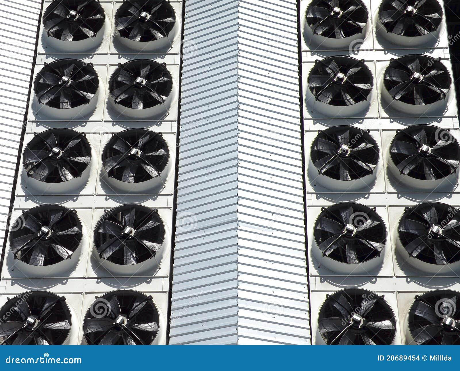 Ventiladores industriales foto de archivo imagen de equipo 20689454 - Fotos de ventiladores ...