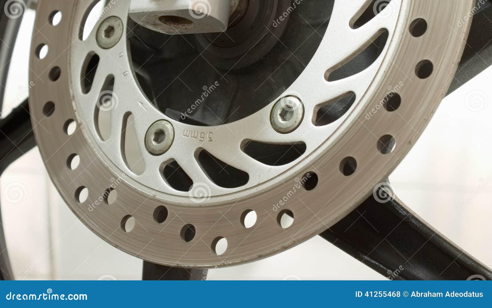 Ventilated disc brake stock photo  Image of motorbike - 41255468