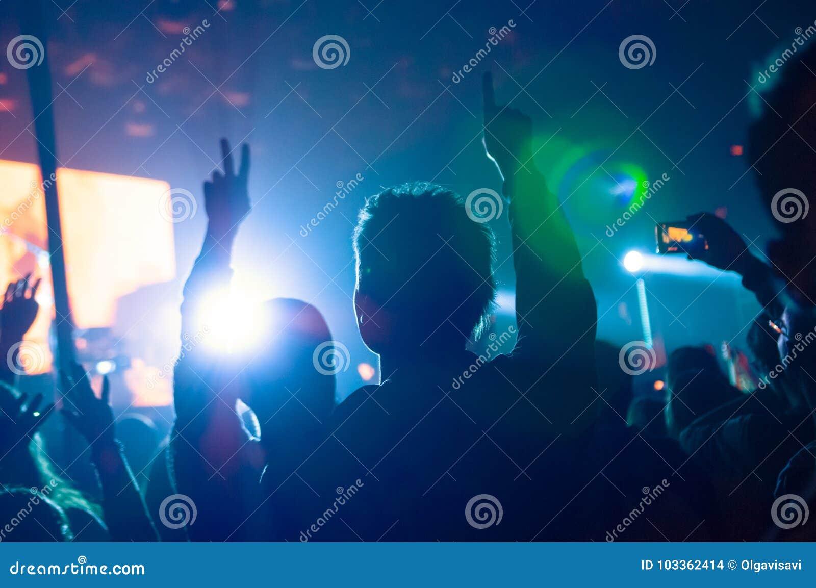 Ventilateurs au concert