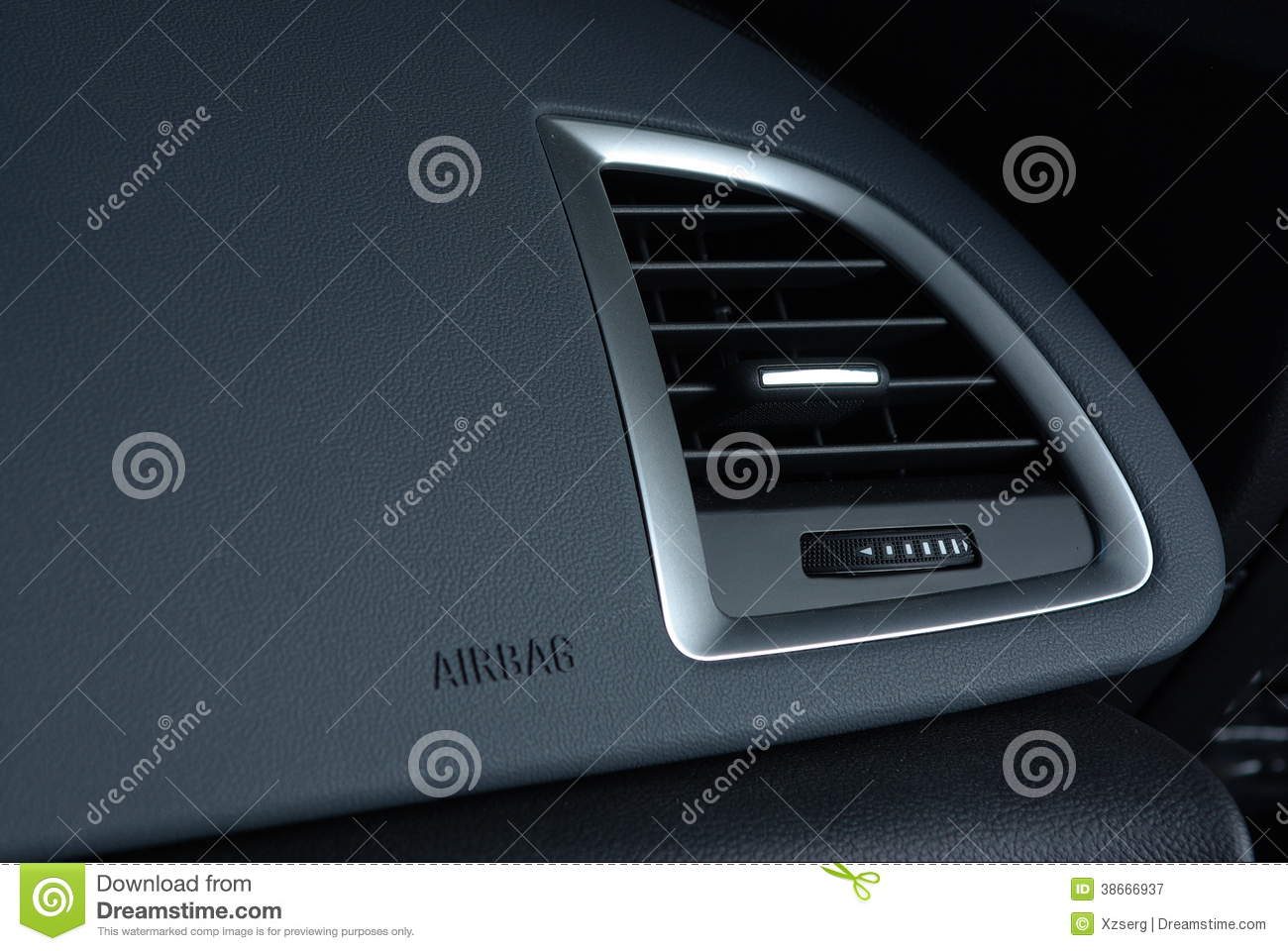Ventilation l 39 int rieur de voiture image stock image for Interieur de voiture