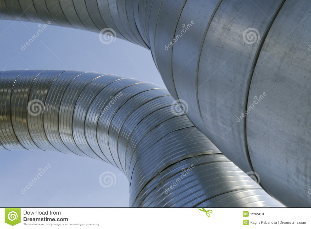 Ventilation Ducts Royalty Free Stock Photos Image: 1232418 #82A328