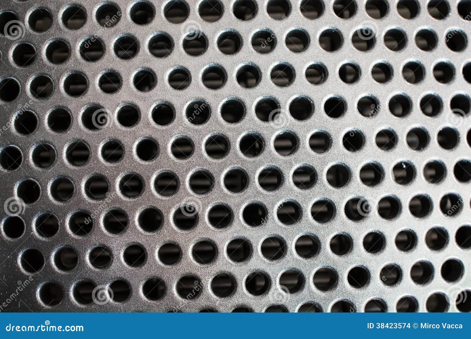 Ventilation Holes Stock Photo Image Of Metal Many