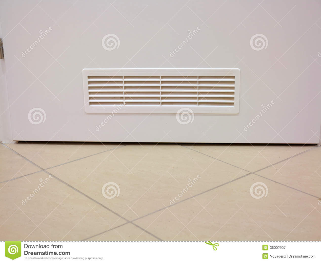 Ventilation window on wooden door royalty free stock for Door ventilation design