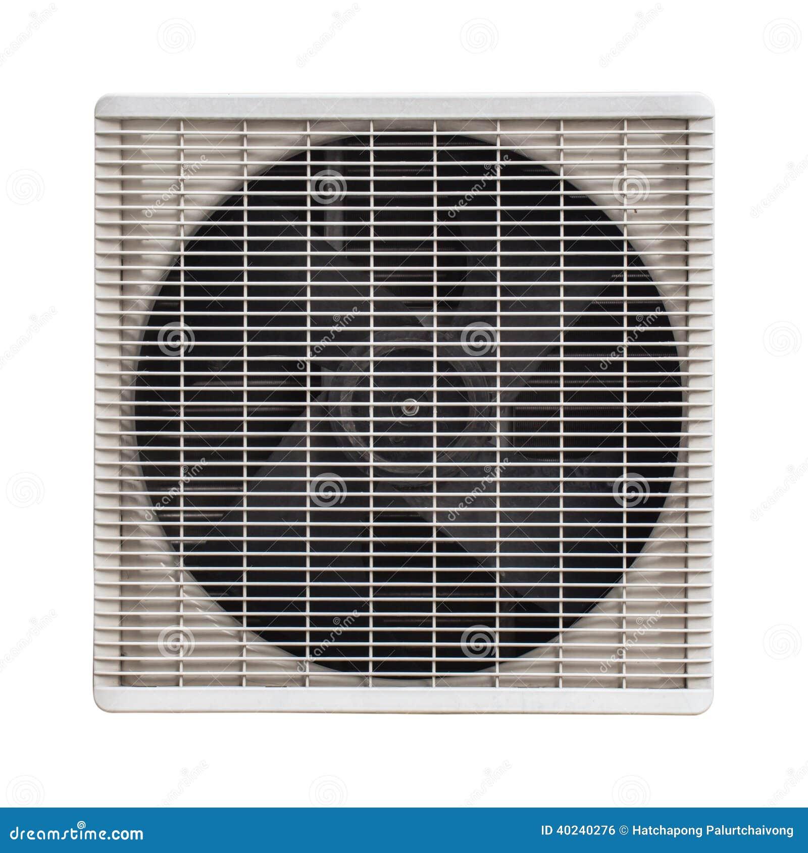 Ventilator van de compressor van de witmetaallucht