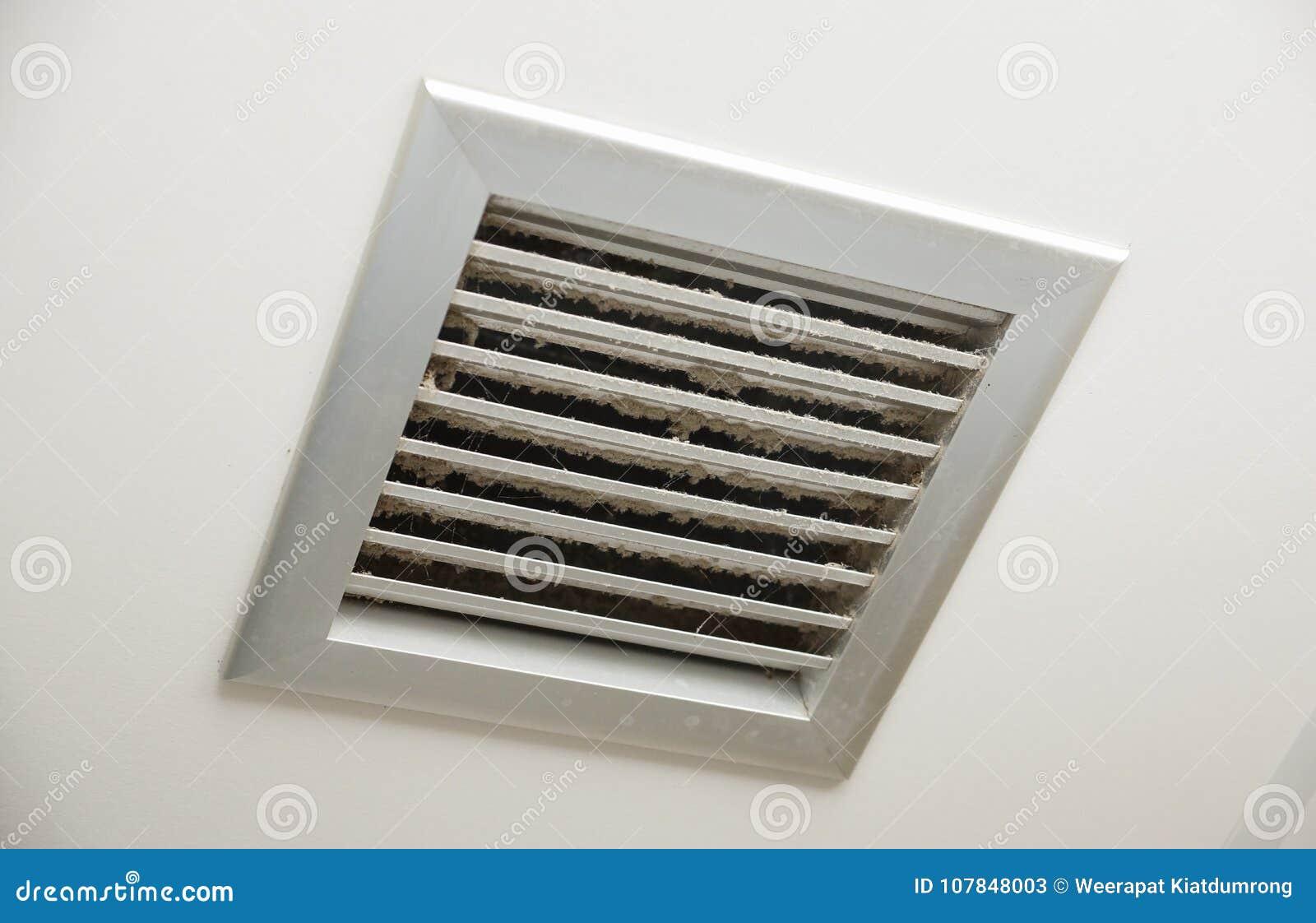Ventilatore sporco dell aria