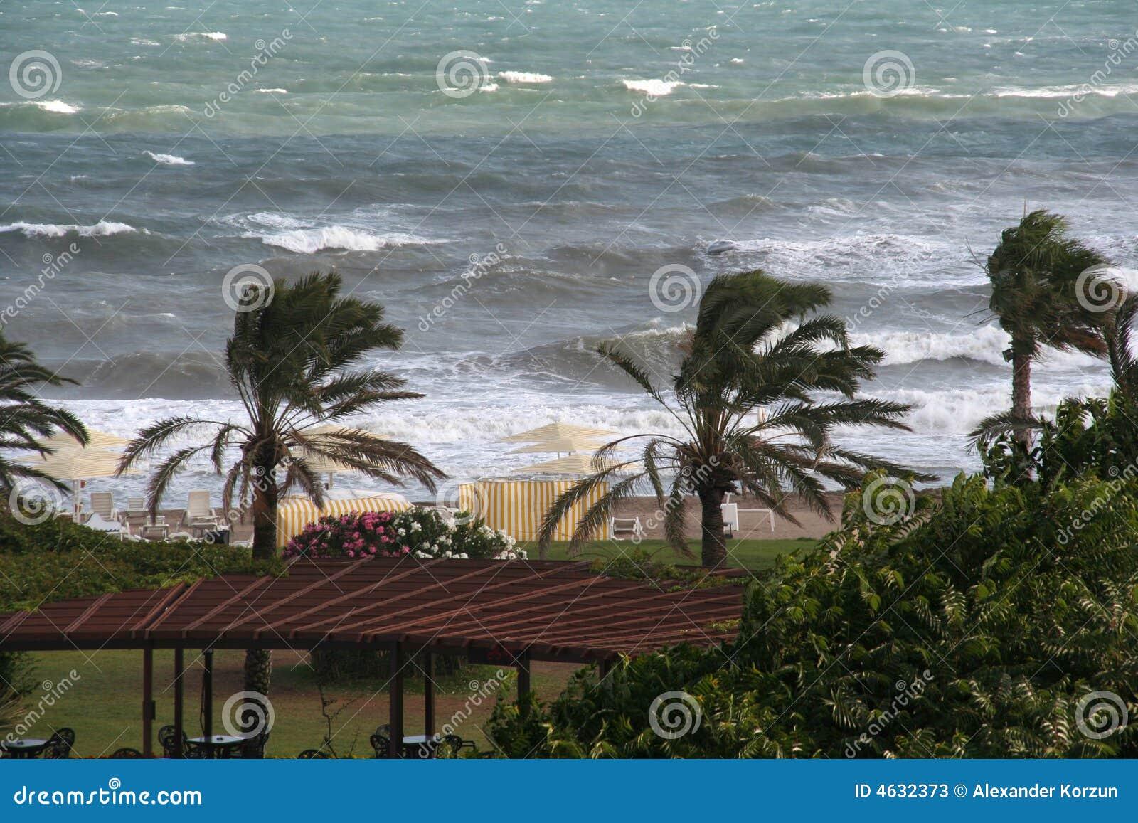 Ventos, ondas e o sol (mar Mediterrâneo)