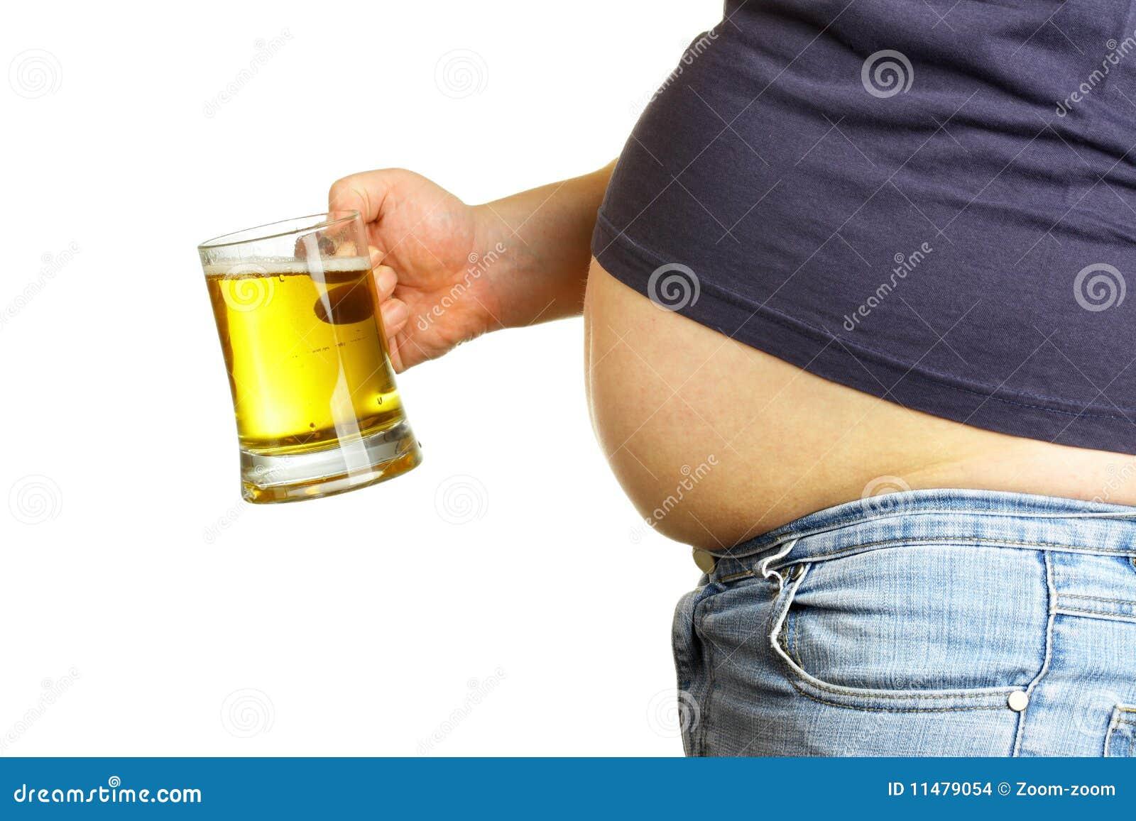 Ventre et bière