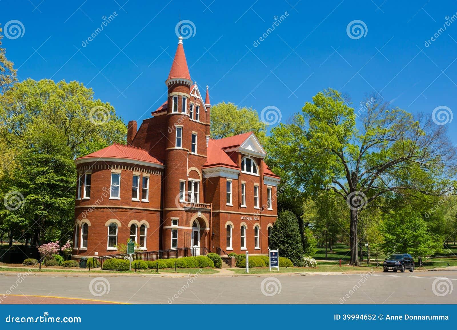 Ventresszaal bij de Universiteit van de Mississippi