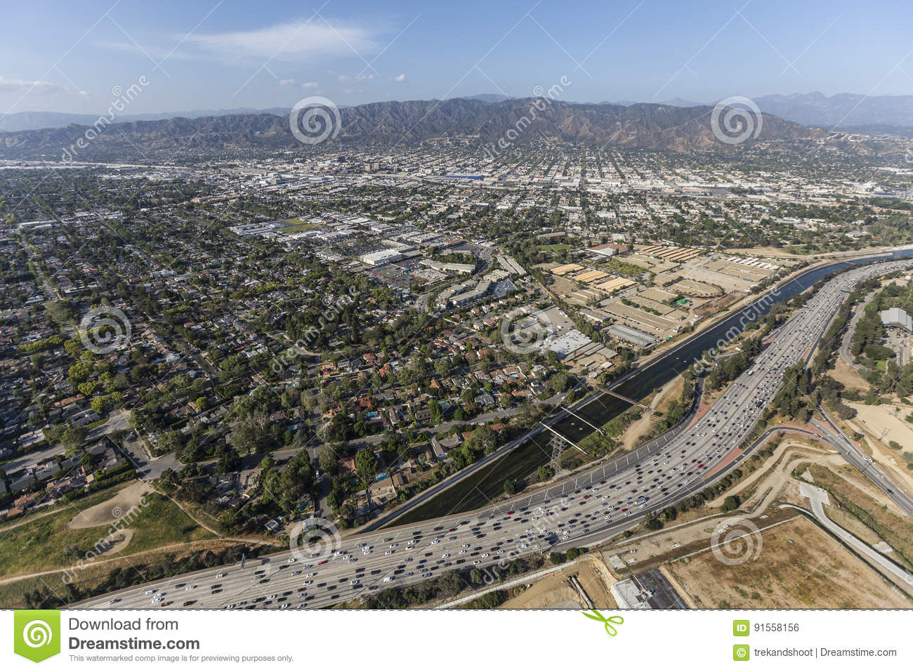 FileLA County Incorporated Areas Burbank Highlightedsvg Maps - Los angeles road map download