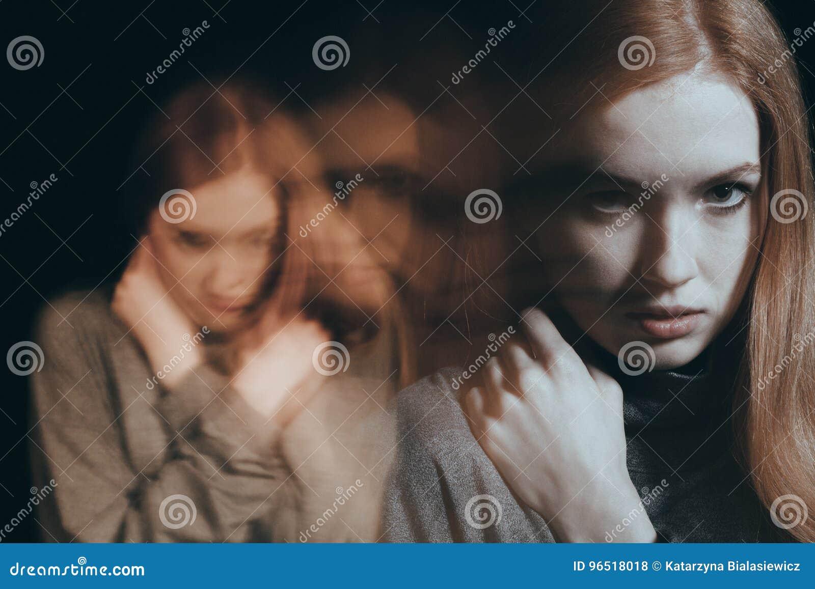 Verärgerte Jugendliche