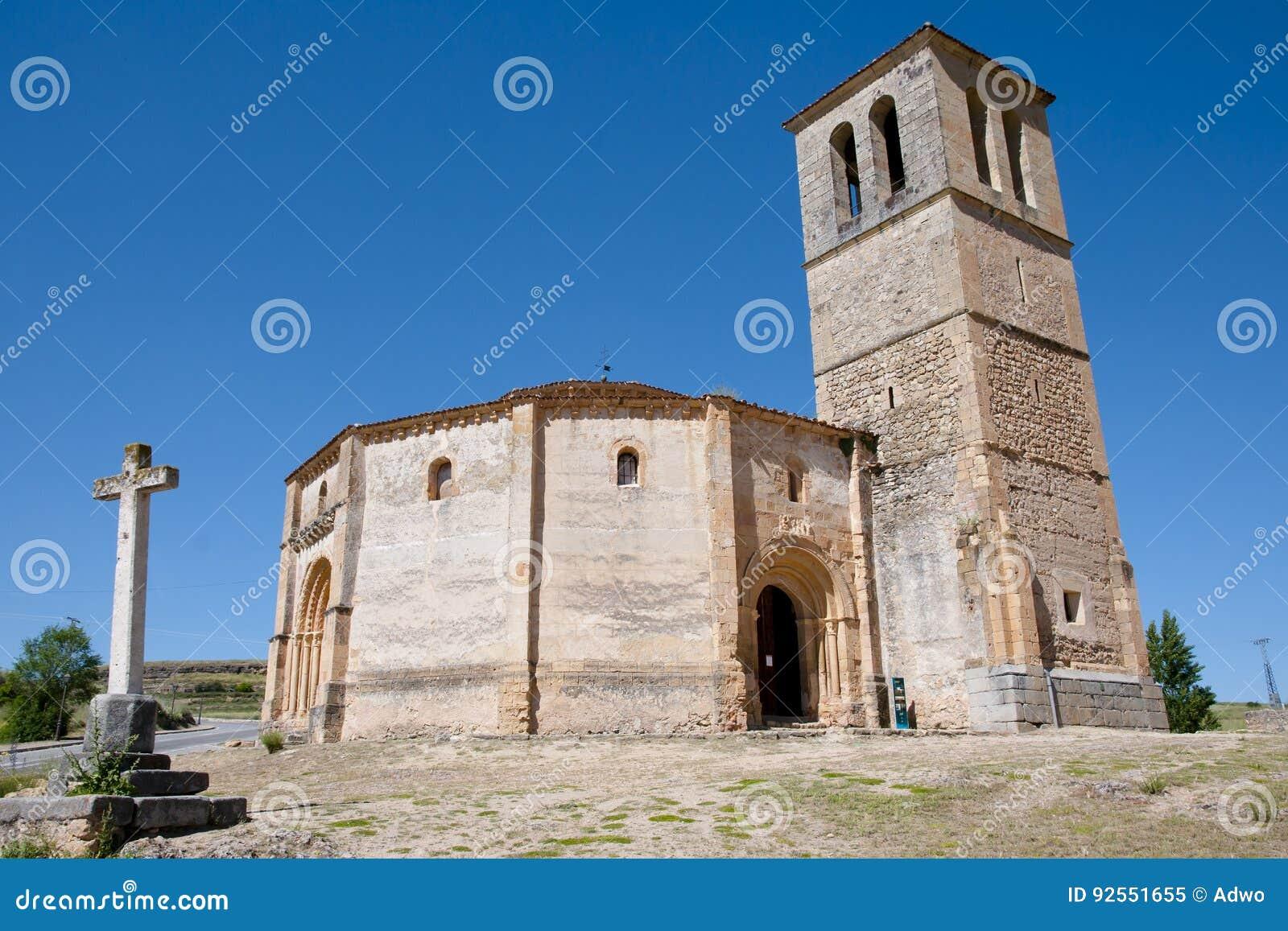 Vera Cruz Church - Segovia - la Spagna
