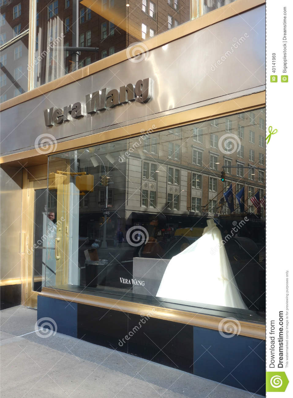 Vera Wang Store editorial stock image. Image of retail ...