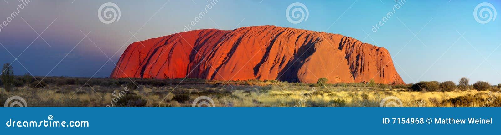 Veranderende Kleuren van Uluru