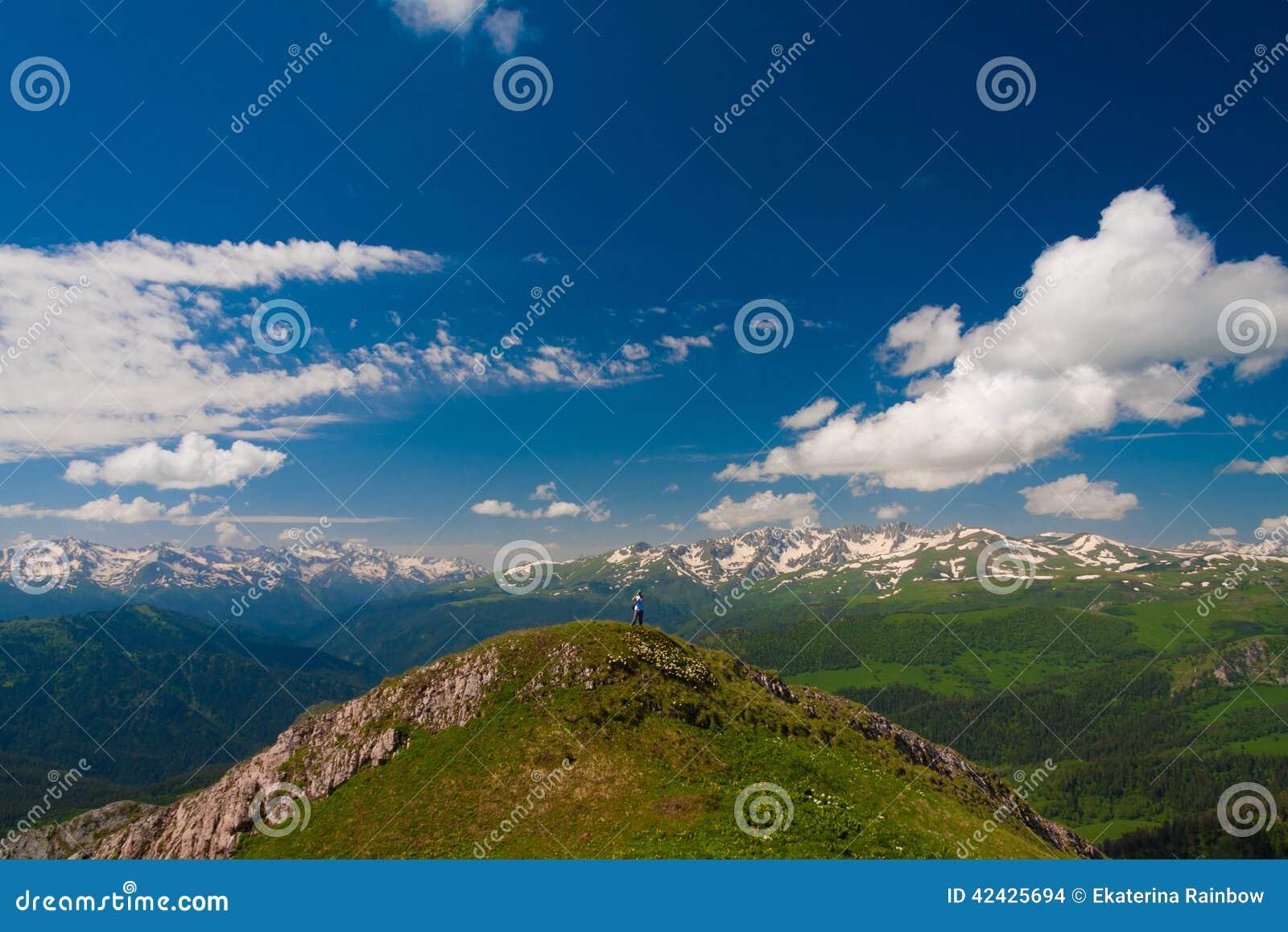 Verano del día de la montaña