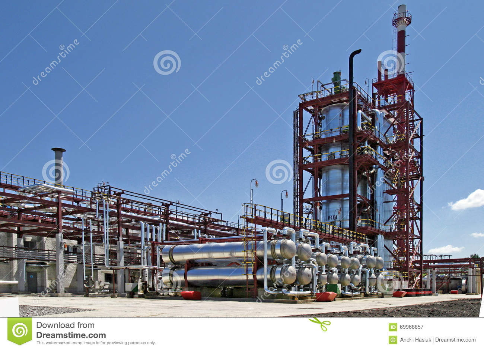 Verarbeitungsanlage des Schmieröls
