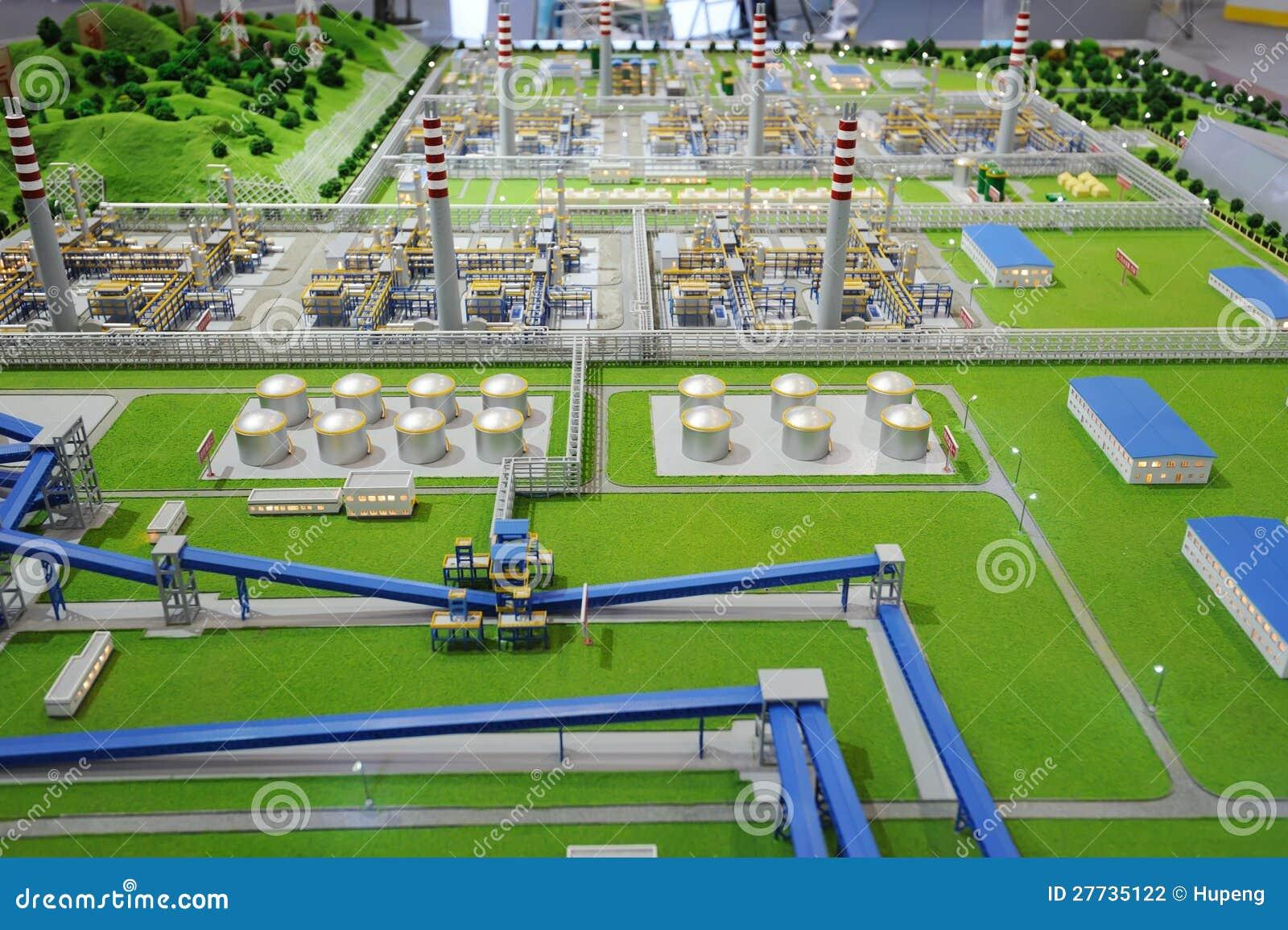 Verarbeitungsanlagebaumuster des Sinopec Gruppen-Erdgases