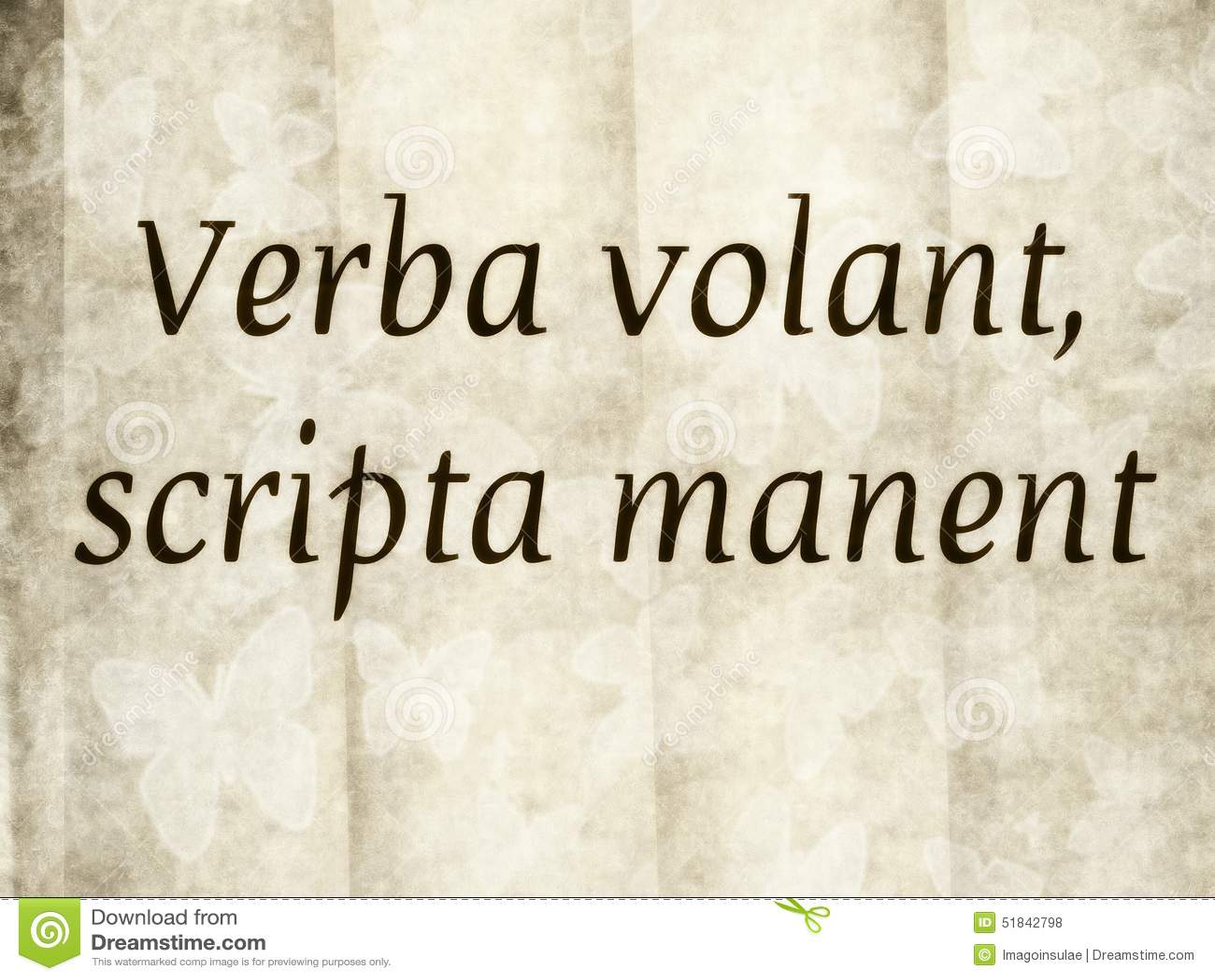 Volant latin