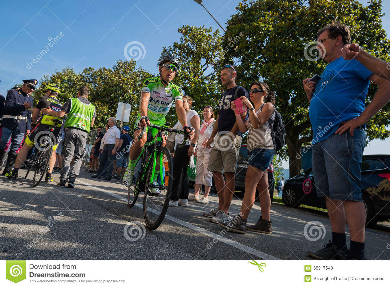 Verbania, Italia 28 May 2015; Professional Cycling After A ...