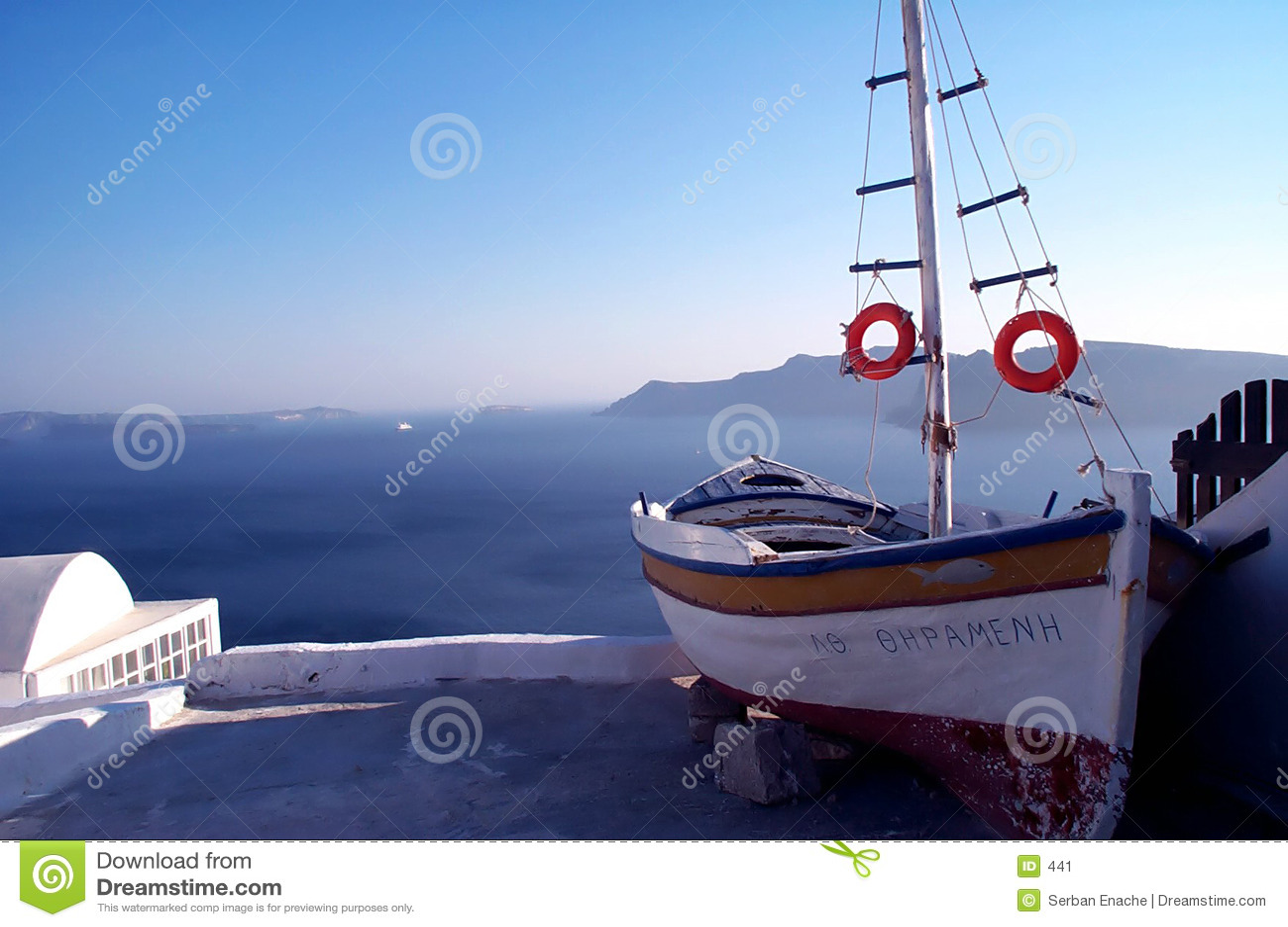 Verbazende mening met boot en overzees 2