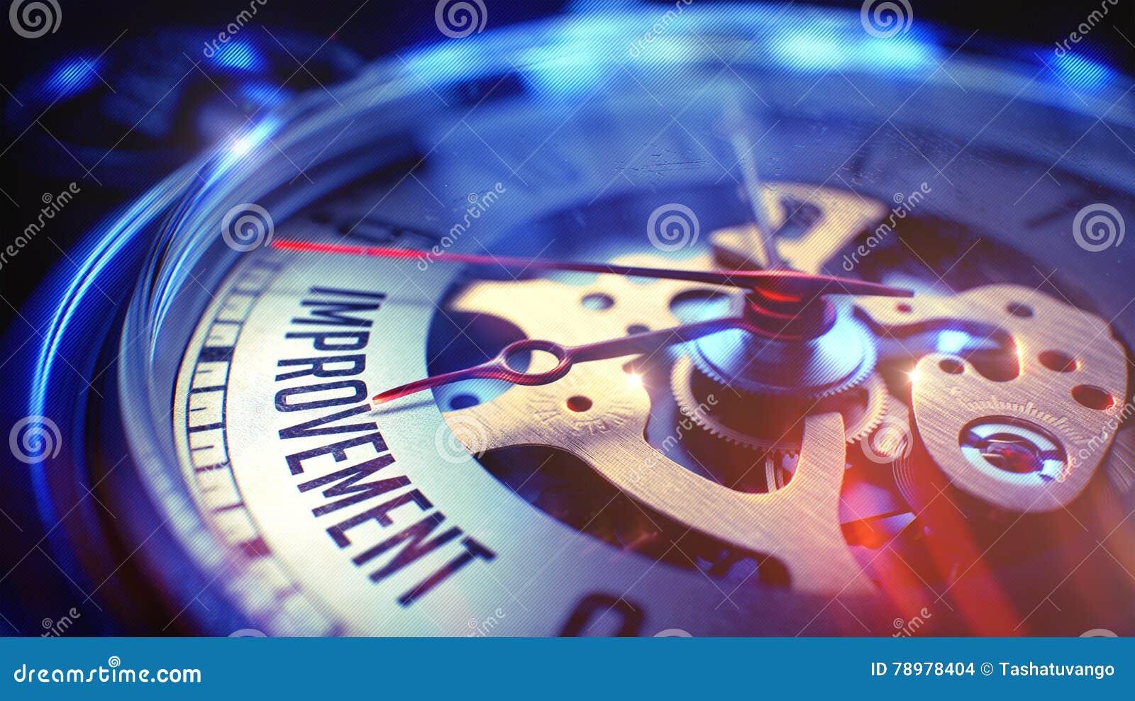 Verbetering - Inschrijving op Horloge 3d geef terug