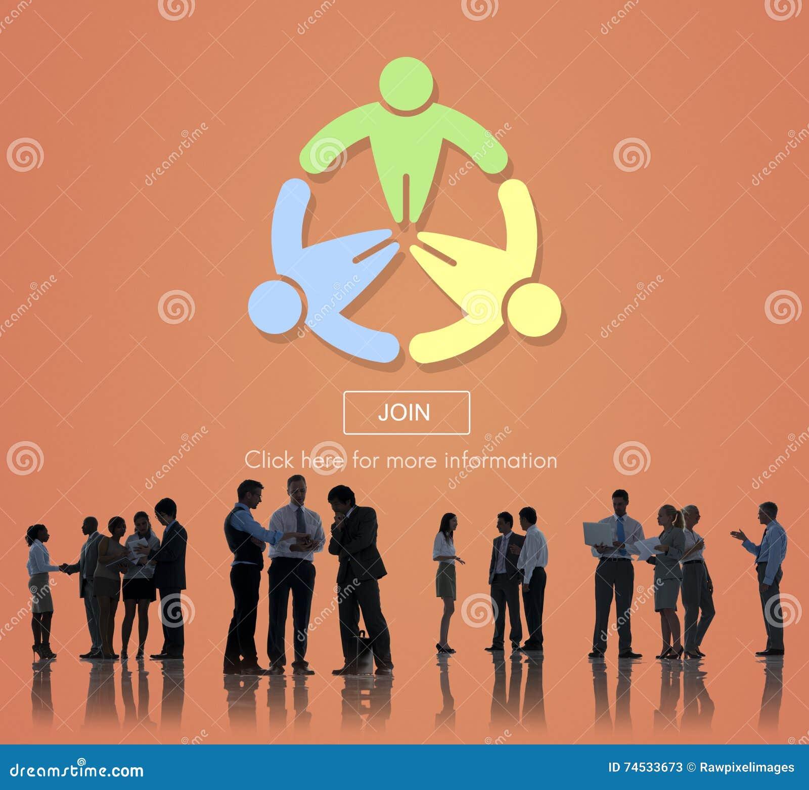 Verbinden Sie anwenden Einstellungsverbindungsmitgliederverzeichnis-Konzept
