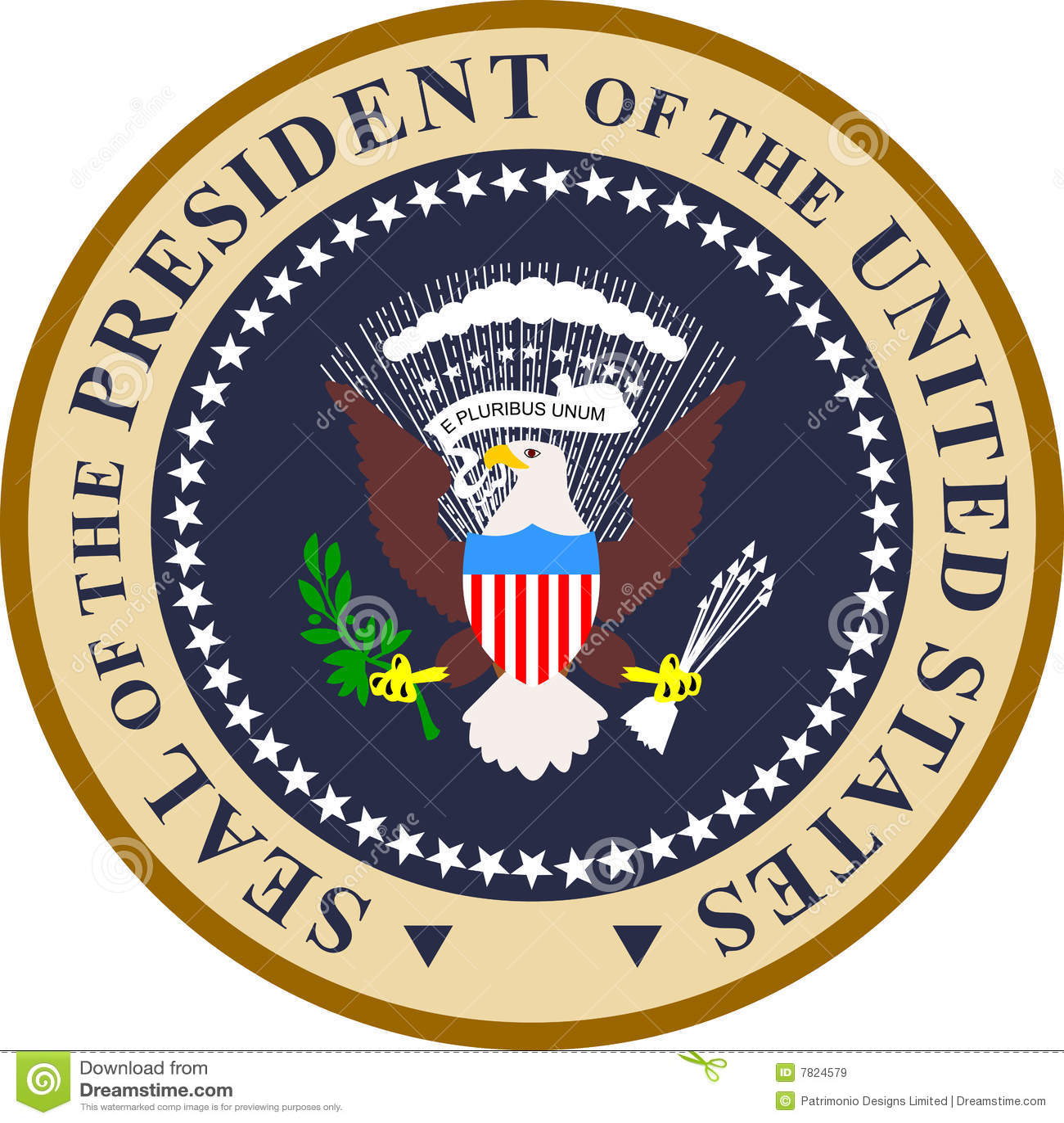 Verbinding van de President van de V.S.