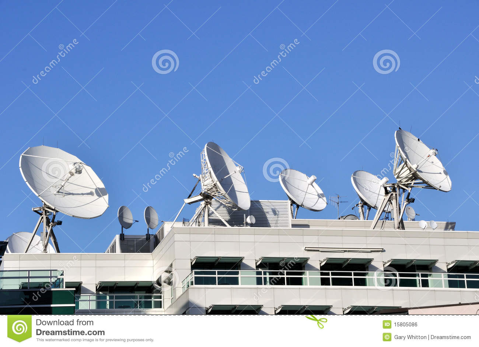 Verbindung- über Satelitteteller