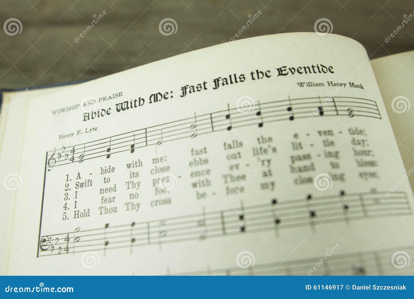Verblijf met me snel valt Eventide Christian Worship Hymn