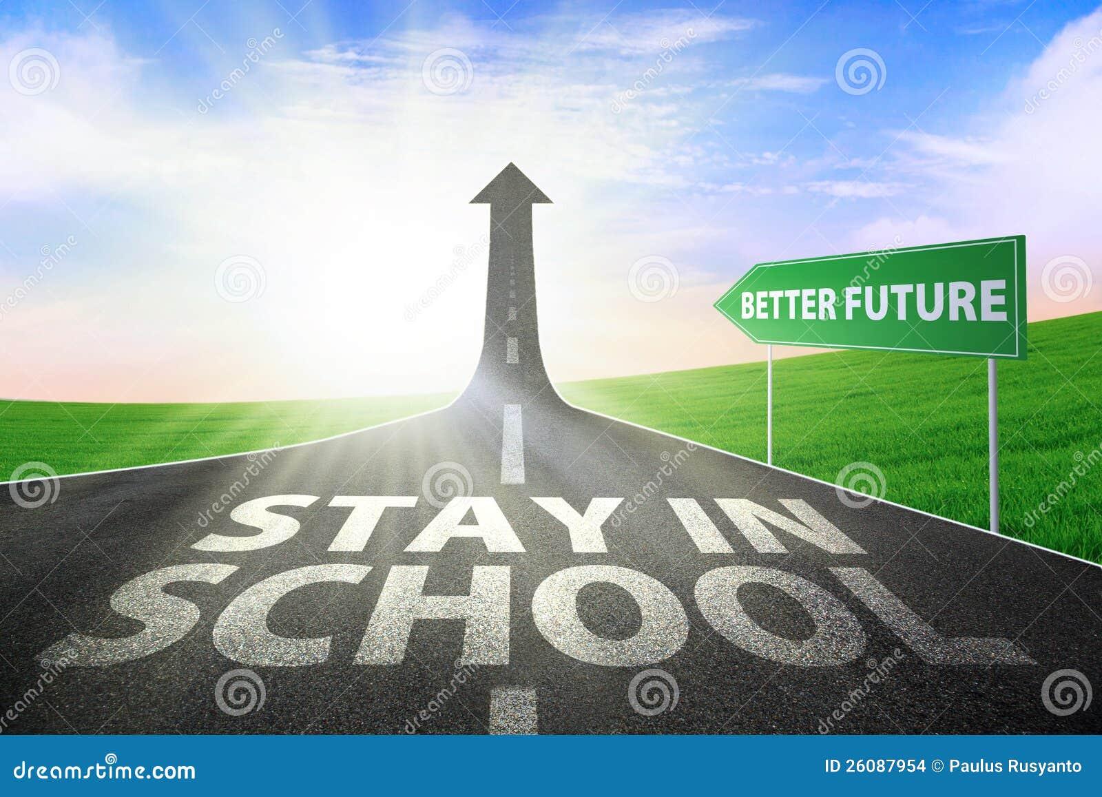 Verblijf in school voor betere toekomst