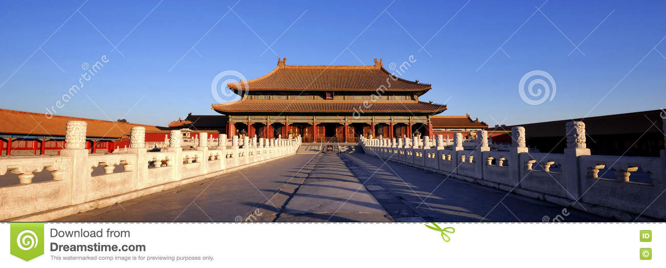 verboden stad chinese cultuur oud concept stock foto - afbeelding