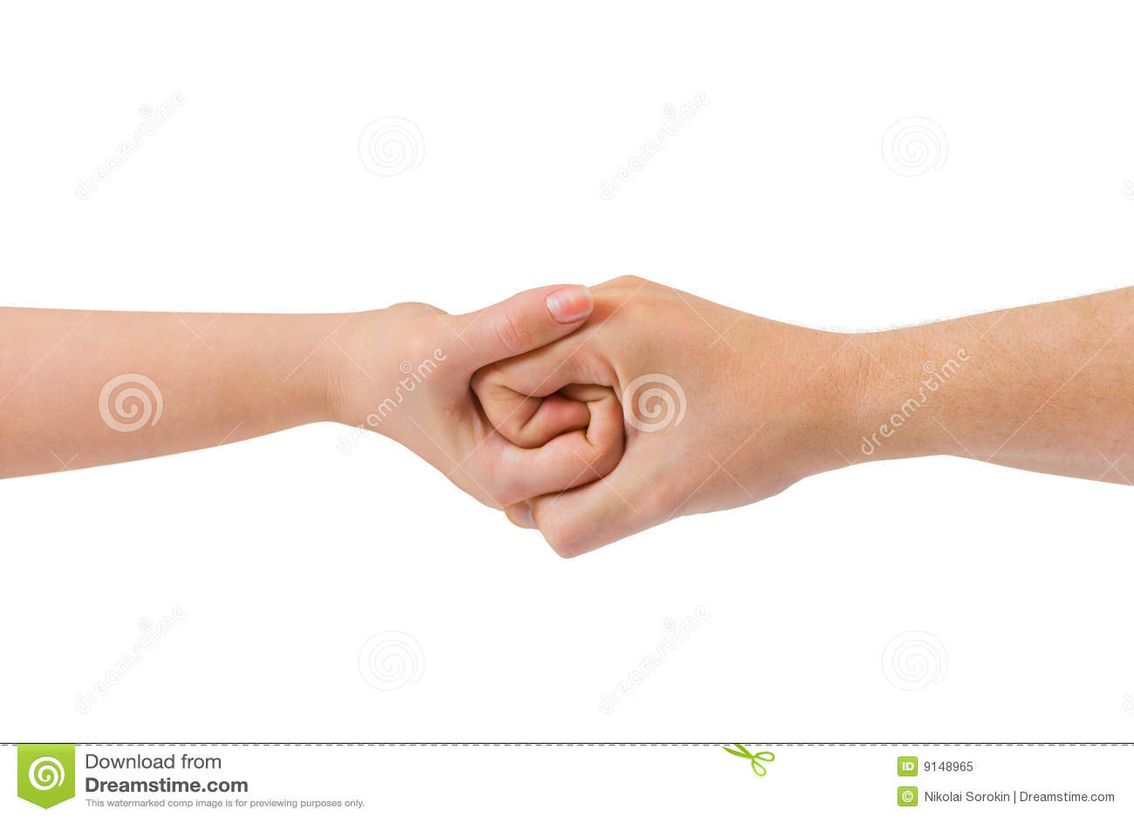 Verbonden handen
