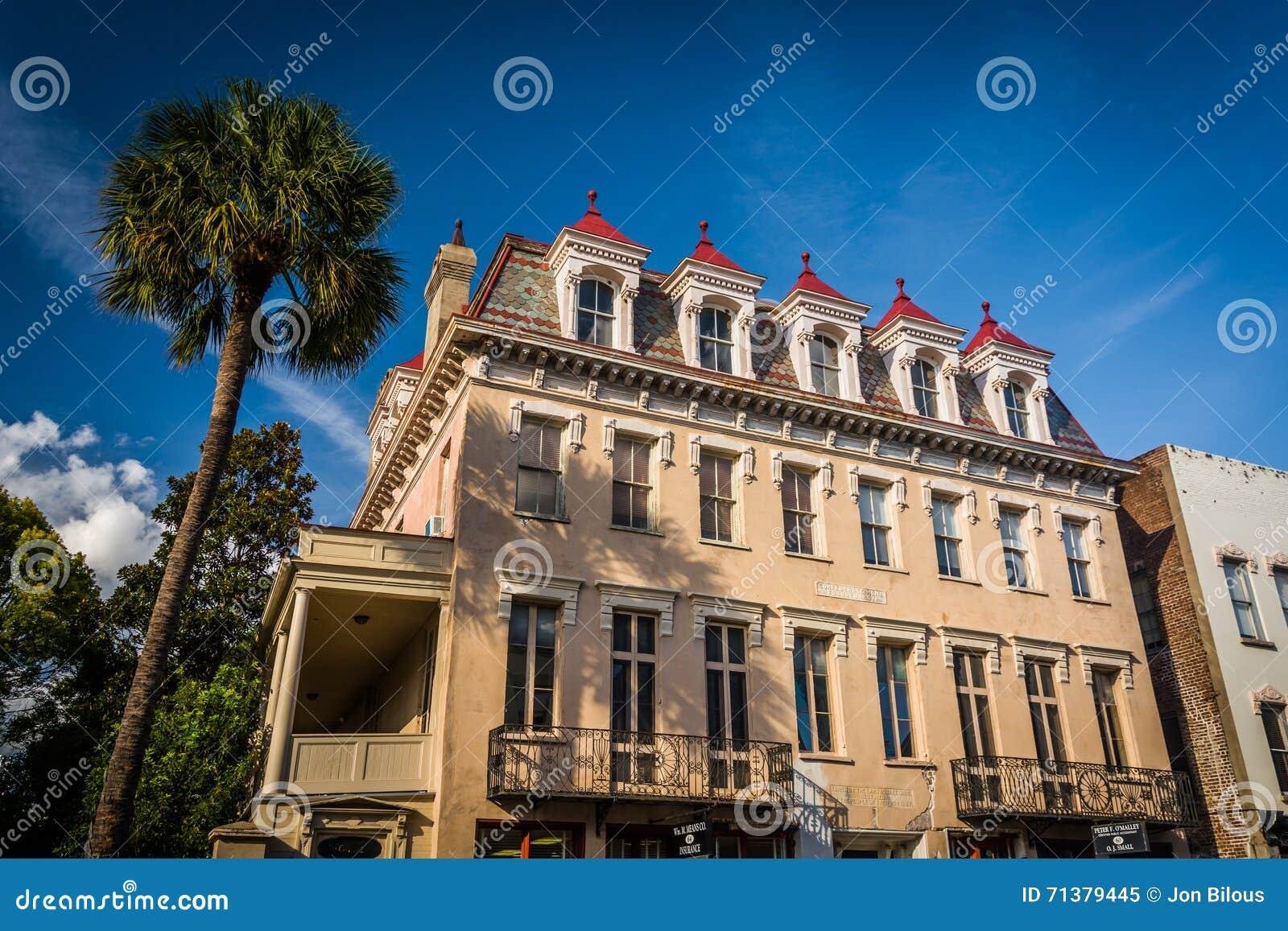 Verbonden Huis & Universiteit in Charleston, Zuid-Carolina