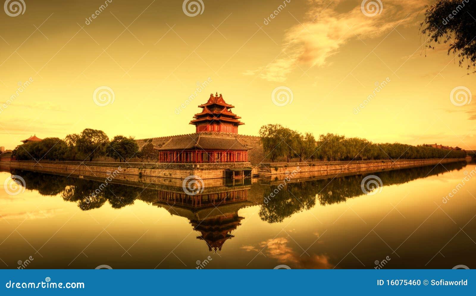 Verbotene Stadt von Peking China