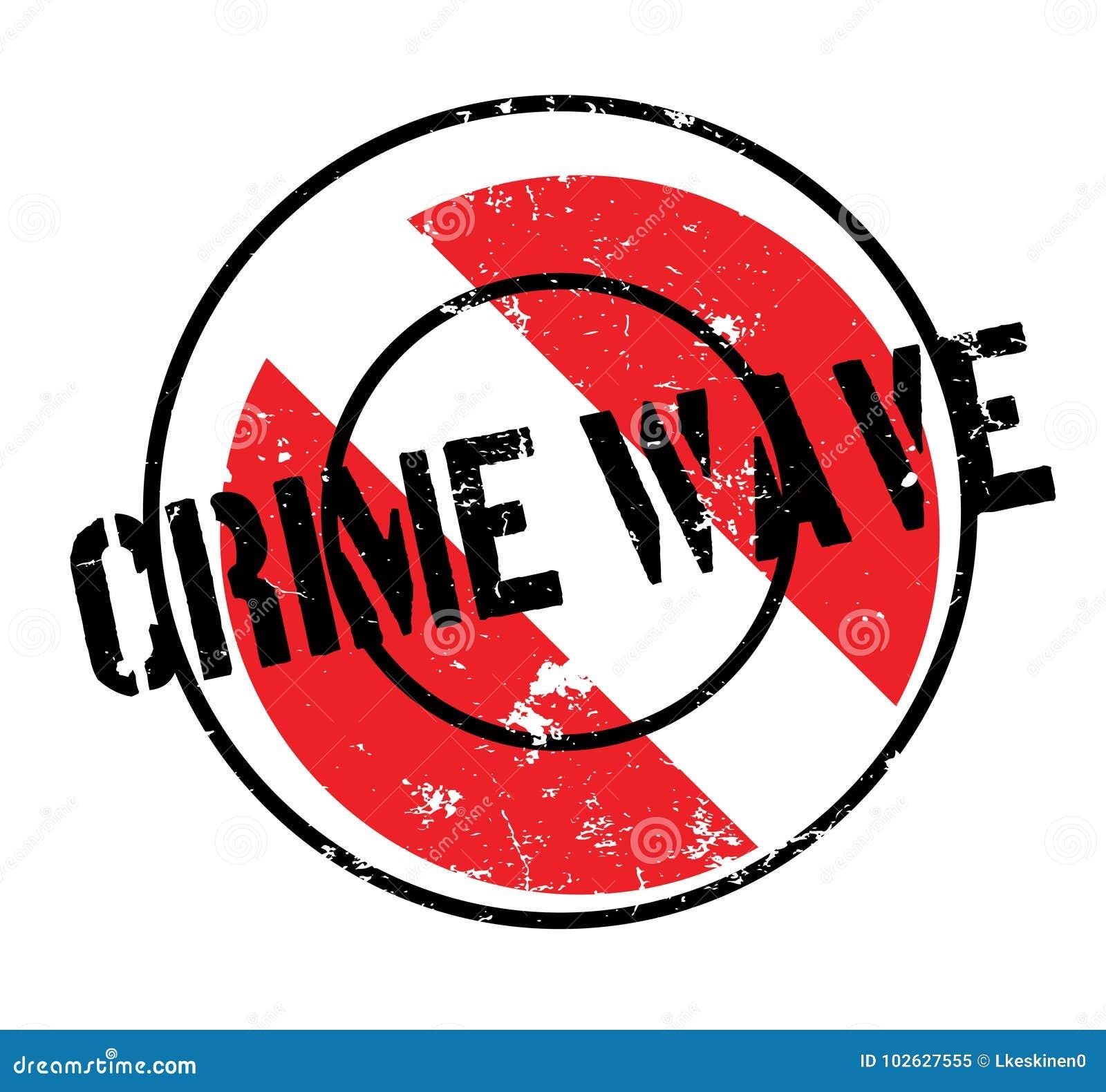 Verbrechensanstiegstempel