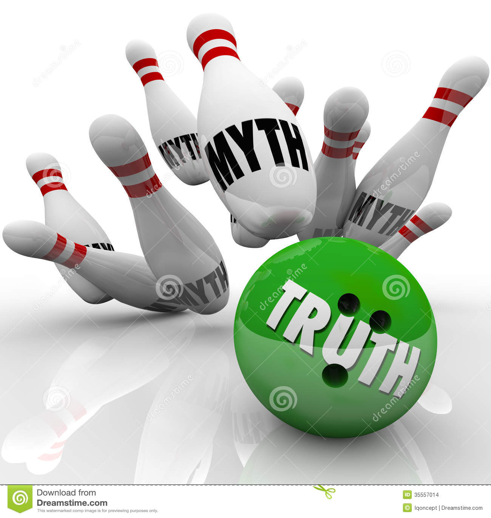 Verdad contra los hechos de los bolos del mito que investigan falsedad que revienta