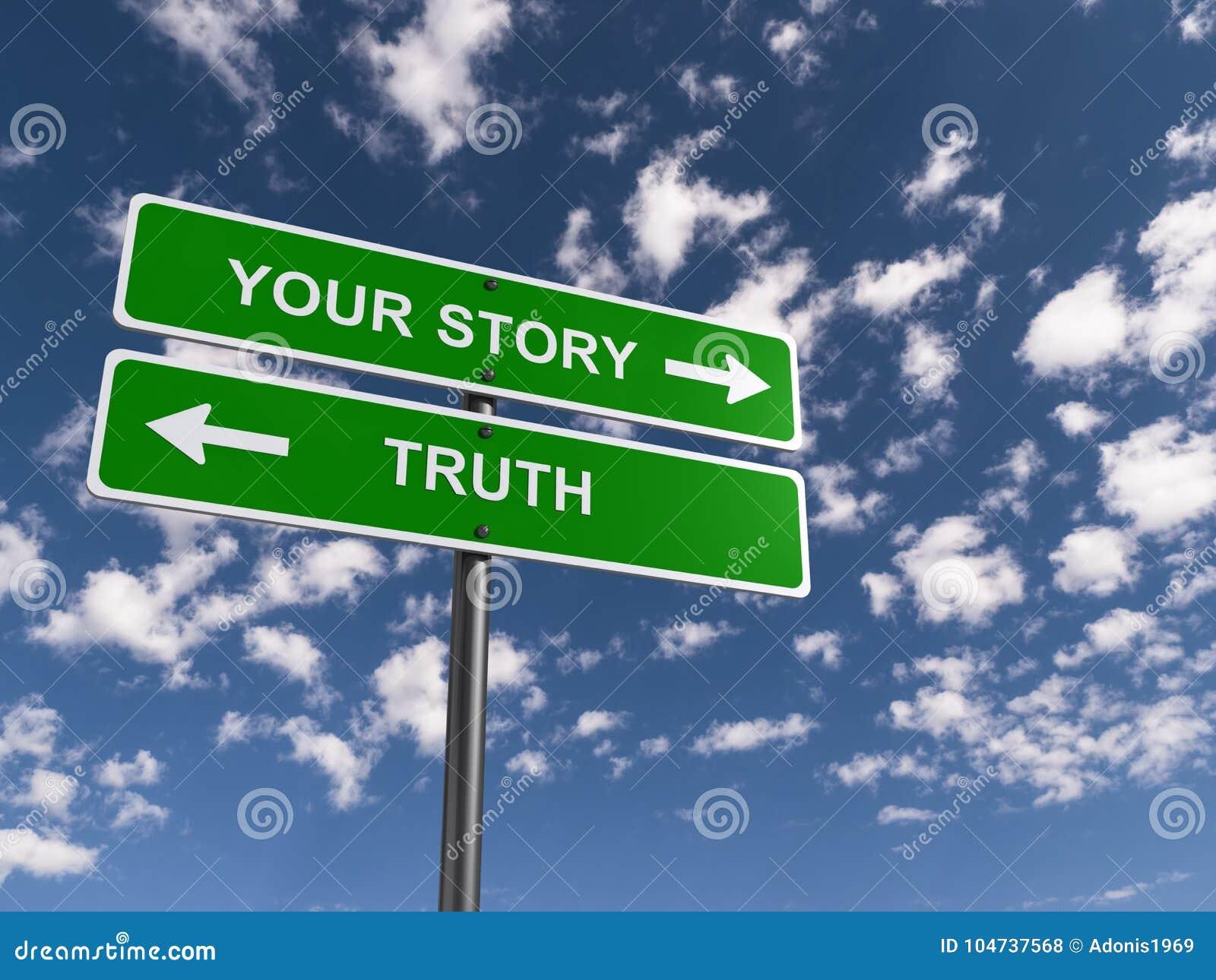 Verdad contra su historia