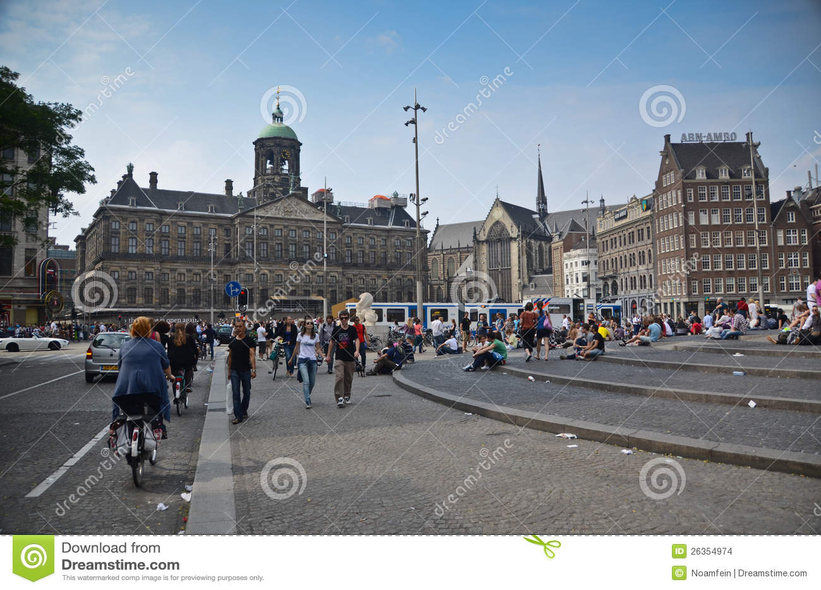 Verdammungs-Quadrat in Amsterdam