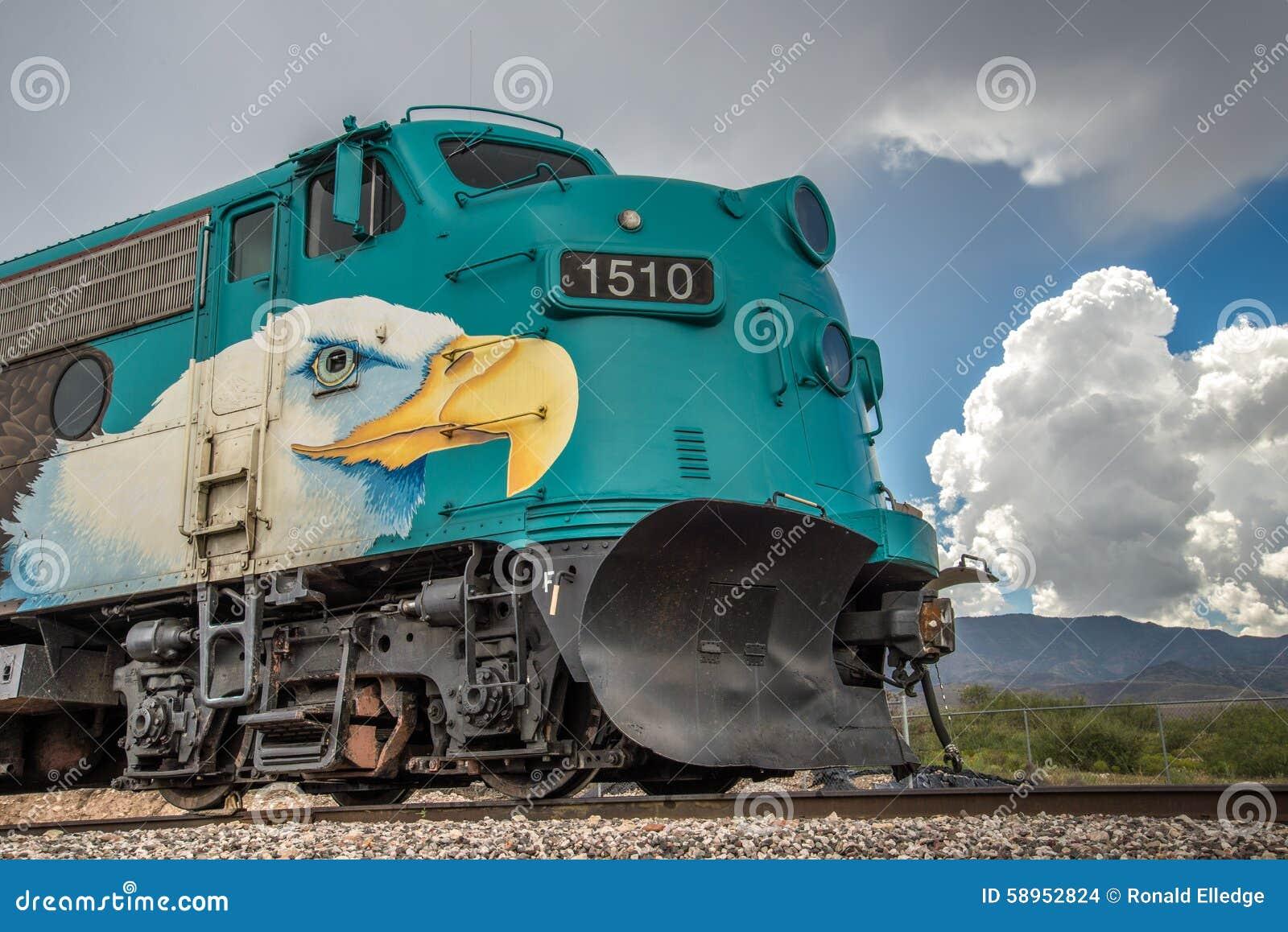 Verde Canyon Railroad Fp7 Locomotive Editorial Stock Image Image 58952824
